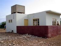 Pedro Vaz: Jardin d'enfants avec son réservoir d'eau