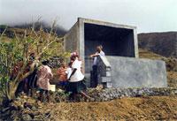 réservoir borne-fontaine de Galinheiro